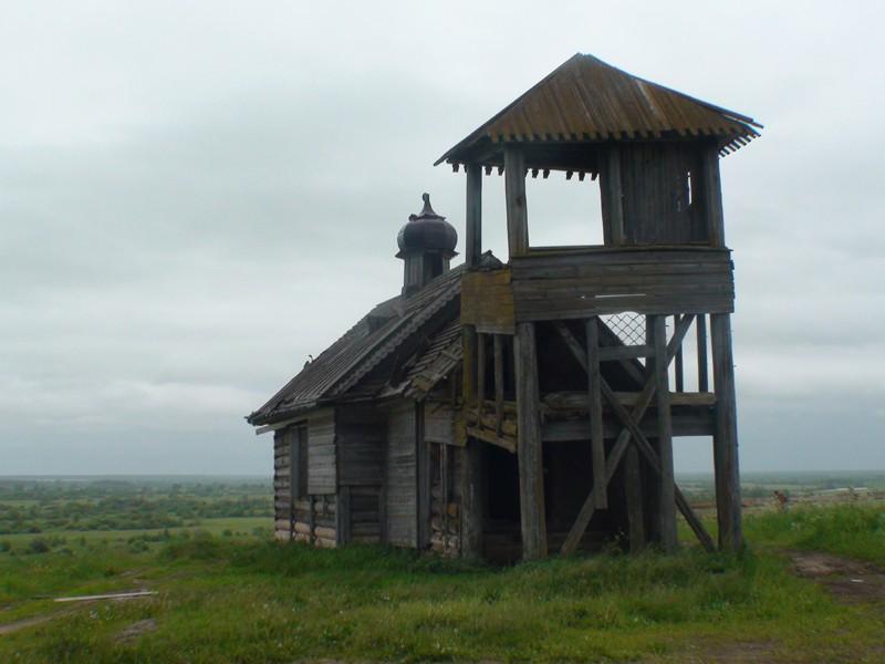 Деревня Сакулинская. Часовня великомученика Георгия Победоносца (1875 г.)