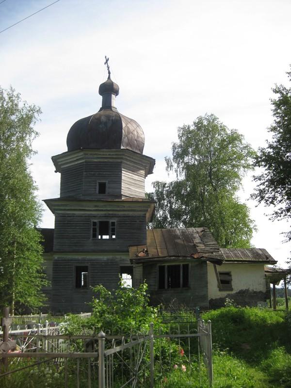Деревня Ростовская. Храм пророка Илии (1732 г.)