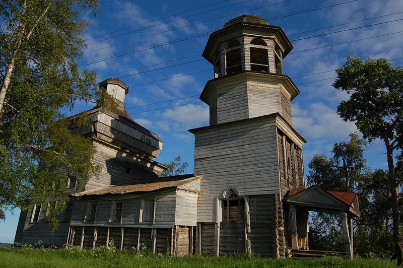 Деревня Поле. Храм Богоявления Господня (1853 г.)