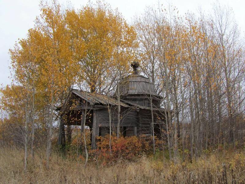 Деревня Павловский Бор. Часовня святителя Филиппа Московского