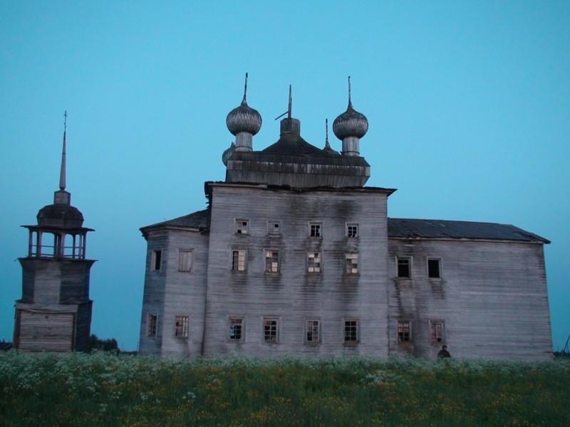 Деревня Нименьга. Храм Преображения Господня (1878 г.)