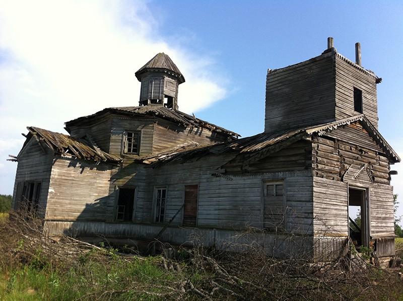 Деревня Медлеша. Храм праведного Лазаря Четверодневного (XIX в.)
