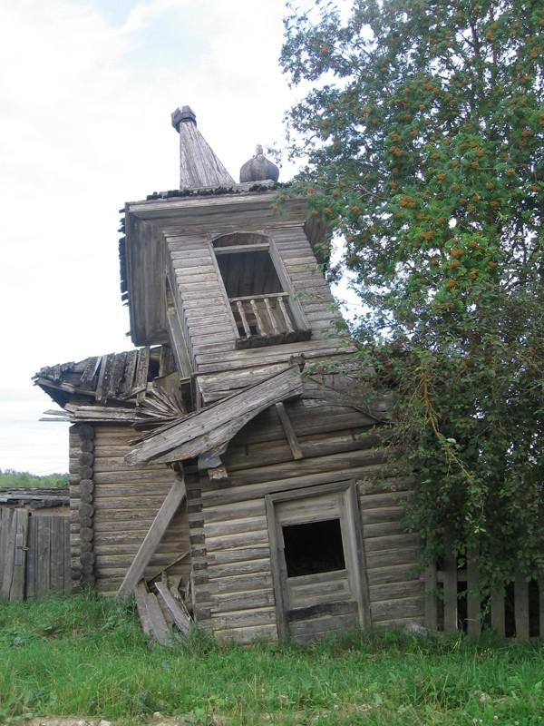Куст деревень Калитинка, деревня Великая. Часовня мучеников Флора и Лавра (часовня на Волоке)