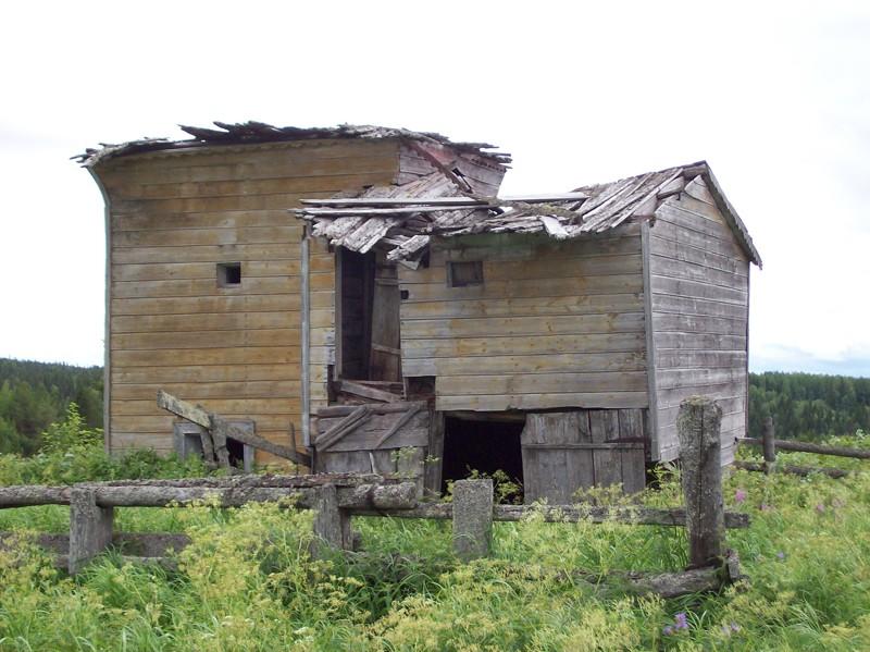 Деревня Ежуга. Часовня святителя Николая (XVIII в.)