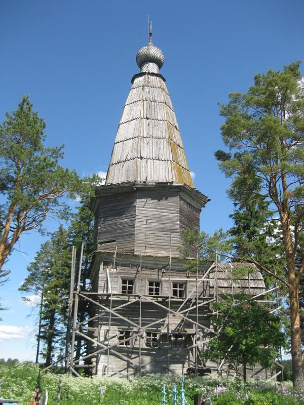 Деревня Большая Шалга (Казаково). Храм Рождества Христова (1745 г.)