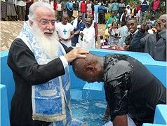 The Son of the Prime Minister of Kenya is Baptized Orthodox