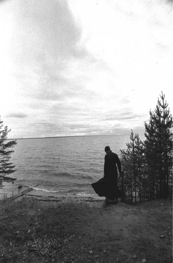 Ладожское озеро скит на о. Коневец