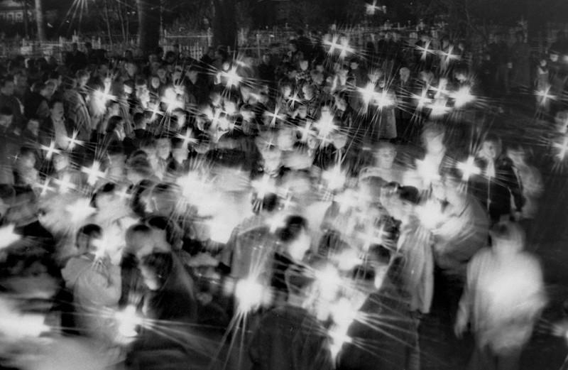 Περιφέρεια Μόσχας. Χωριό Φάουστοβο, Ιερά Μονή Νοβο-Σολοβέτσκαγια Μαρτσούγκοβα Πούστιν, Μετόχι της Ιεράς Μονής Μεταμόρφωσης του Σωτήρος Σολοβέτσκιϊ. Πασχαλινή Λιτανεία