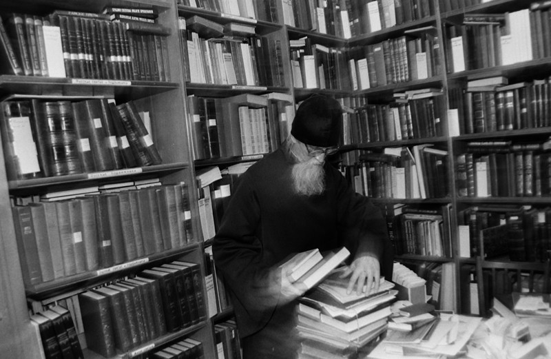 Ιερά Μονή των Σπηλαίων του Πσκόβ. Βιβλιοθηκάριος