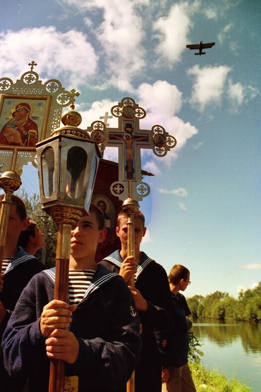 Λιτάνευση των ιερών λειψάνων του Αγίου Δικαίου Στρατιώτη Θεόδωρου Ουσακόβ