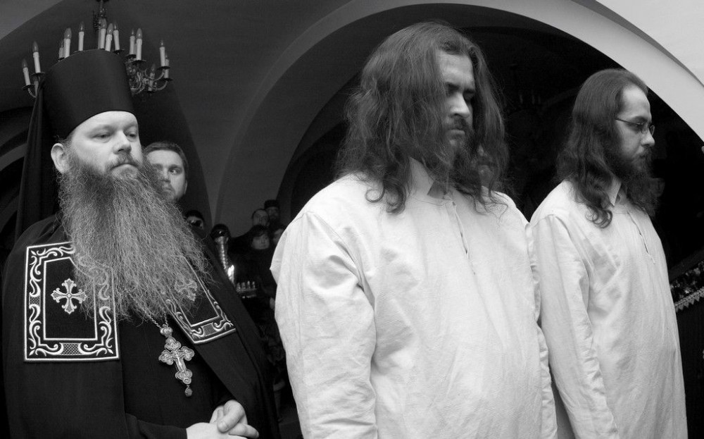 Κουρά. Ιερά Μονή Αγίου Ονουφρίου στο χωριό Ιάμπλοτσνα