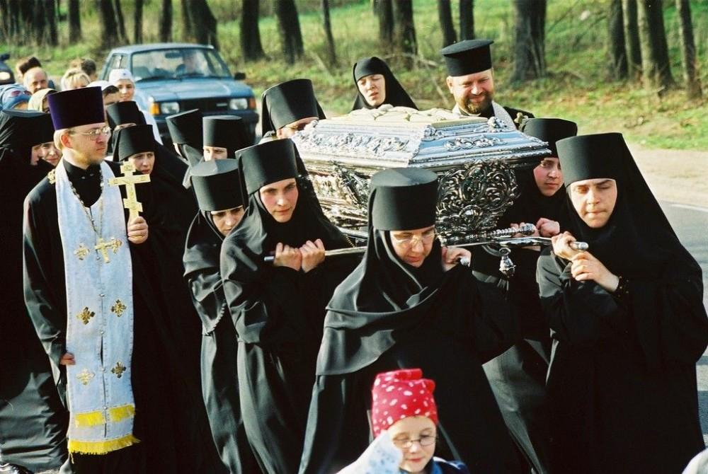 Πεζοπόρο προσκύνημα από την πόλη Μπελοστόκ στο χωριό Ζβερκί