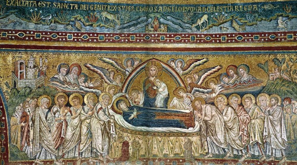 Успение Пресвятой Богородицы. Церковь Санта Мария Маджоре, Рим, 1296 год