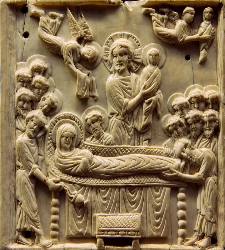 Успение Пресвятой Богородицы. Константинополь, X век; Париж. Музей Средневековья
