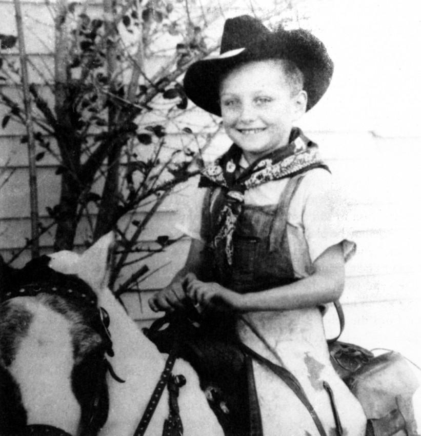 Маленький ковбой Евгений Роуз
