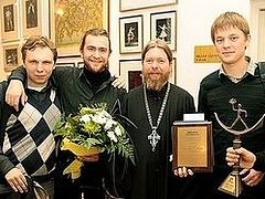 "Everyday Saints receives Russian ""Book of the Year Award""."