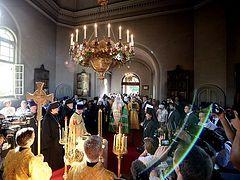 Russian Patriarch visits Japan