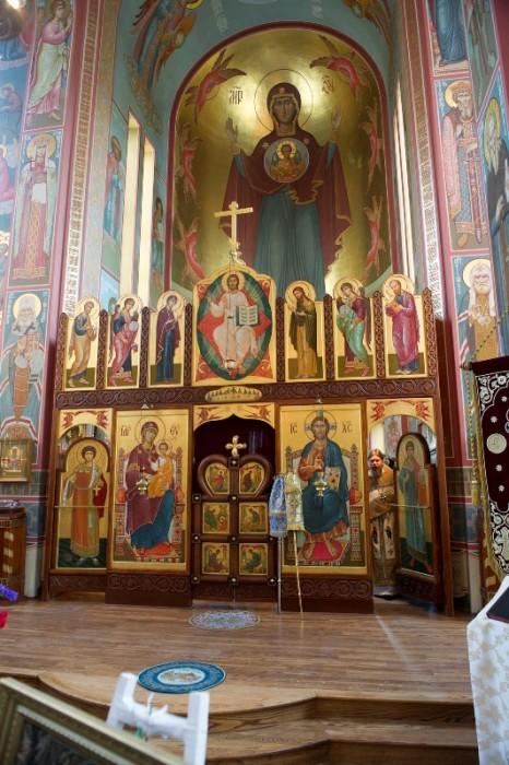 Иконостас Свято-Никольского собора