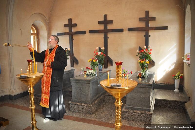 Место погребения Оптинских новомучеников