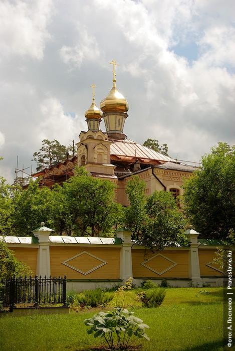 Скитский храм в честь свт. Льва Катанского и прп. Иоанна Рыльского