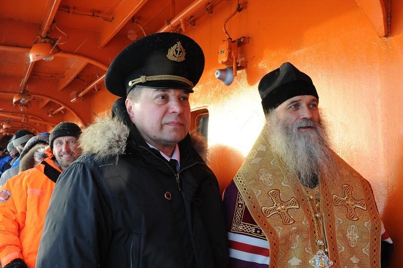 Два капитана на борту «России»