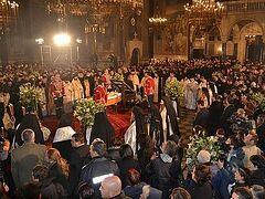 Делегация Русской Православной Церкви приняла участие в отпевании Болгарского Патриарха