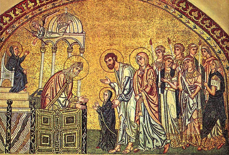 Введение во храм Пресвятой Богородицы. Монастырь Дафни