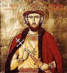 St. Rostislav, Prince of Great Moravia.