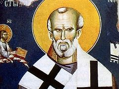 Puzzling Points in the Life of St. Nicholas