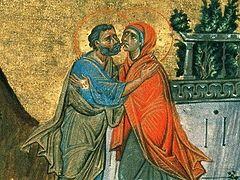 Зачатие праведной Анной Пресвятой Богородицы (+АУДИО)