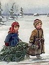 The Beggar Boy at Christ's Christmas Tree
