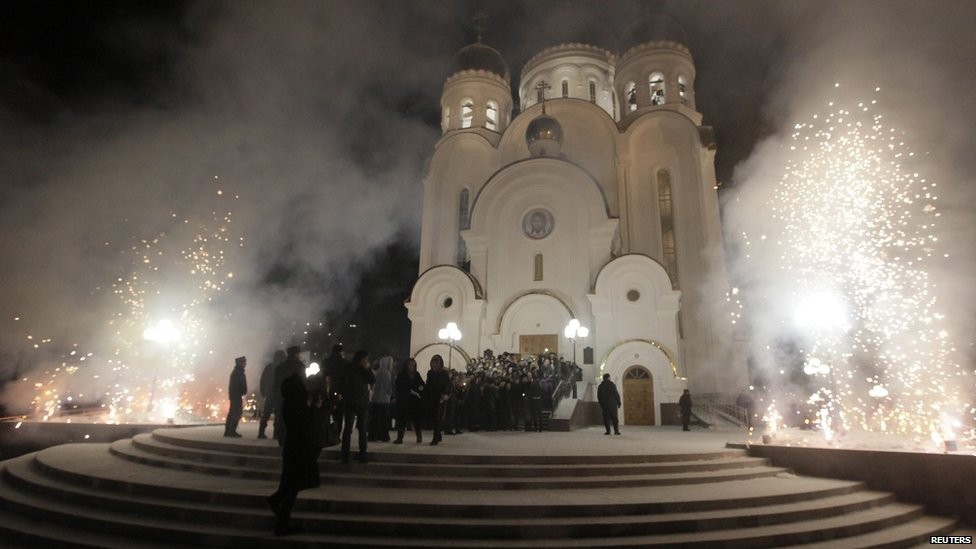 Церковь Рождества Христова, Красноярск