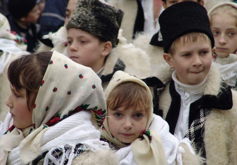 Румынские дети